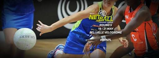 Round 5: Brutal Fruit Netball Premier League : Bellville Velodrome