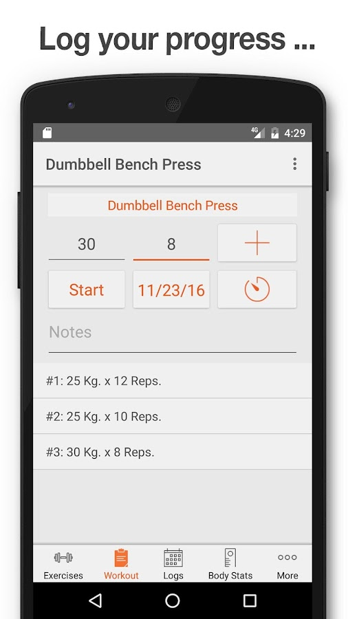 Fitness Point Pro- screenshot