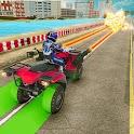 ATV Quad Bike Shooting: Traffic Shooter Simulator icon
