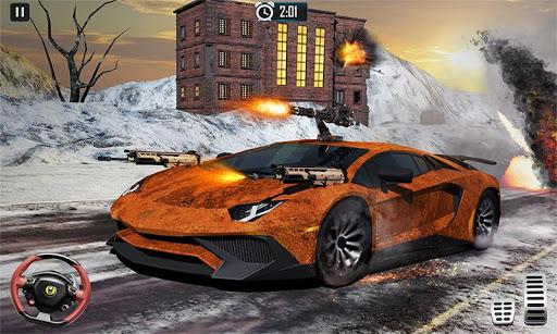Furious Death Car Snow Racing: Armored Cars Battle 1.6 screenshots 1