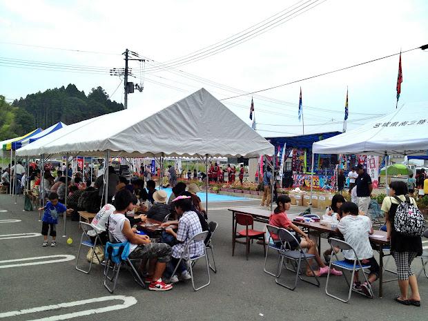 歌津復興夏祭り&HOPE FESTIVAL
