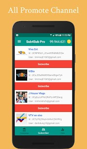 Sub4Sub Pro (No Ads) v4.6 [Paid] APK 3