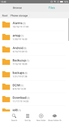 File explorer - File Manager(Small and fully)のおすすめ画像5