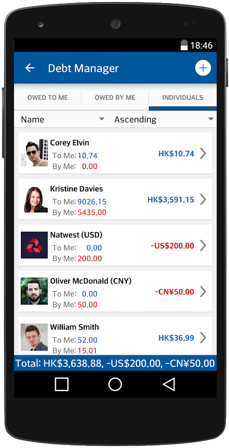 Debt Manager & Tracker- screenshot
