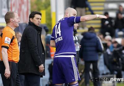 """Problème de communication à Anderlecht: """"Cela arrive quand on n'est pas à niveau"""""""
