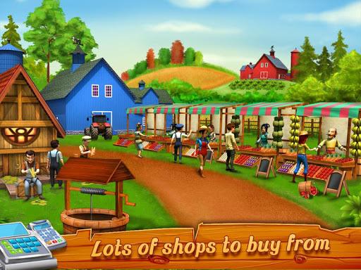 Big Farm Cashier Manager : Cash Register Game app (apk) free