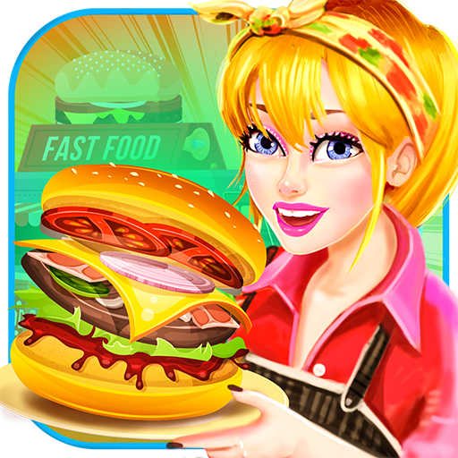 Food Truck Kitchen Fever Chef; Burger Cooking Game