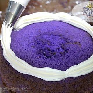 Ube Chiffon Cake.