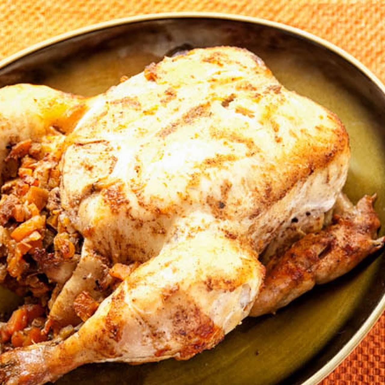 Moroccan-Style Roast ChickenRecipe