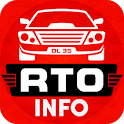 RTO vehicle & licence info icon