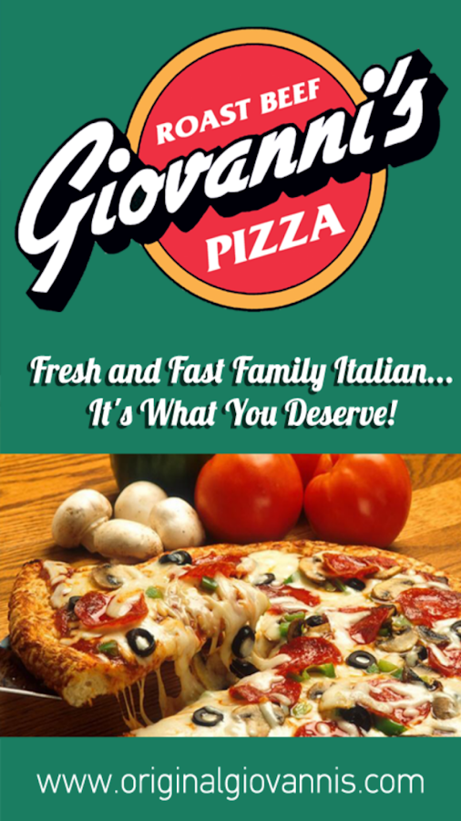 Giovanni's Roast Beef & Pizza- screenshot