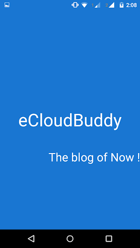 eCloudBuddy-the blog of Now