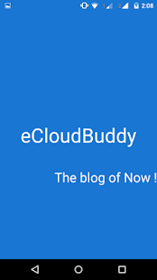 eCloudBuddy-the blog of Now!- screenshot thumbnail
