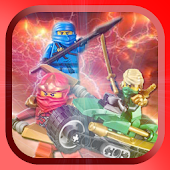 Warrior NinjaGO Shadow Puzzle