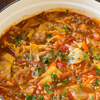 Tomato Beef Rice Soup Recipes