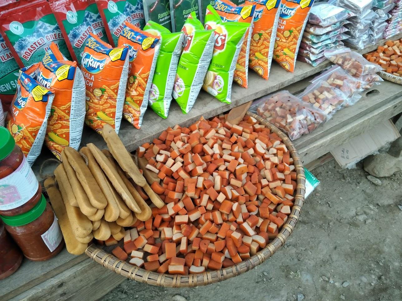 ネパールのチーズ