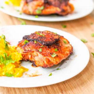 Crispy Paprika Honey Chicken Thighs {Gluten-Free, Dairy-Free}.