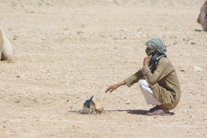 Il the nel deserto di -----