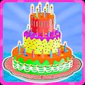 Yummy Birthday Cake Decorating icon