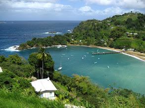 Photo: Tobago;  Trinidad'ın sayfiye adası. Tobago;  Vacation island of Trinidad.