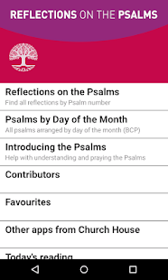 Reflections on the Psalms- screenshot thumbnail
