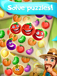 Funny Farm match 3 Puzzle game! APK screenshot thumbnail 10