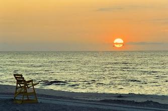 Photo: Sunrise Over Long Beach Island, NJ   (scanned from a 1994 4x6 print)