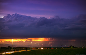 Photo: Captured this week outside of Denver International Airport