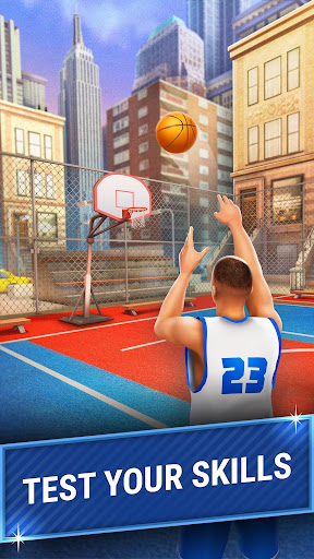Shooting Hoops - 3 Point Basketball Games screenshot 1
