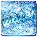 Blue Water Drop Keyboard icon