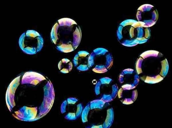 Kids Blowing Bubbles Recipe (non-edible)