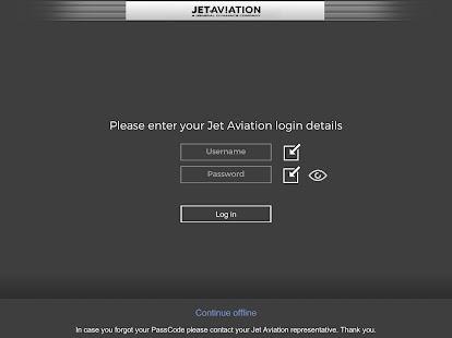 JetVision - náhled