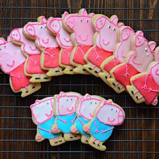 Peppa Pig Cookies (Step-By-Step Tutorial).
