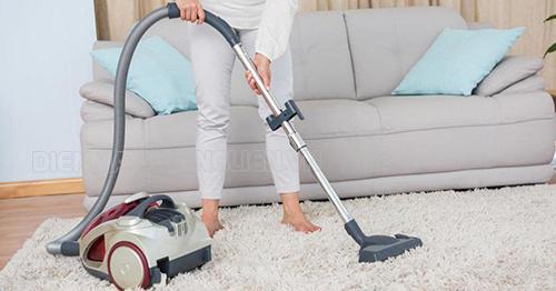 mẹo giữ thảm trải sàn luôn sạch