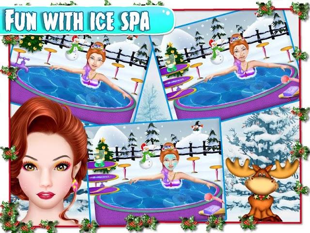 android Christmas Girlfriend Spa Screenshot 0