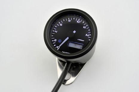 DAYTONA digital tachometer VELONA, black, Ø 48mm, 15.000 RPM