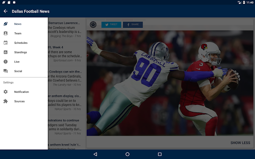 Dallas Football News  screenshots 9