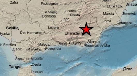 La tierra vuelve a temblar en Almería: ahora en el Almanzora