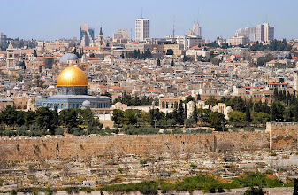 Photo: Old City from the Mount of the Olives
