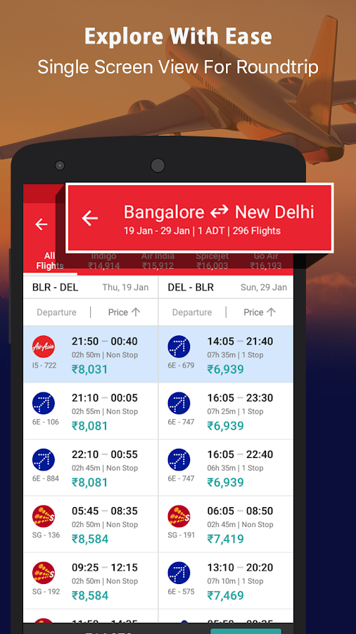 Yatra - Flights Hotels Bus IRCTC/Trains & Ola/Uber- screenshot