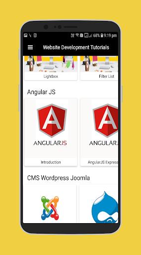 Website Development Tutorials screenshot 5