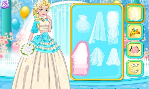 Princess Top Crop Wedding Gown- screenshot thumbnail