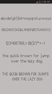 Arabic Fonts for Android- screenshot thumbnail