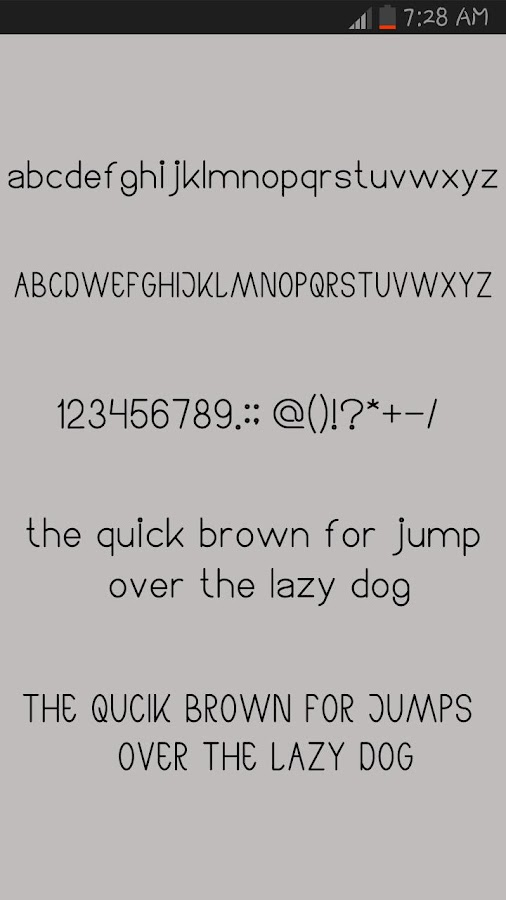 Arabic Fonts for Android- screenshot