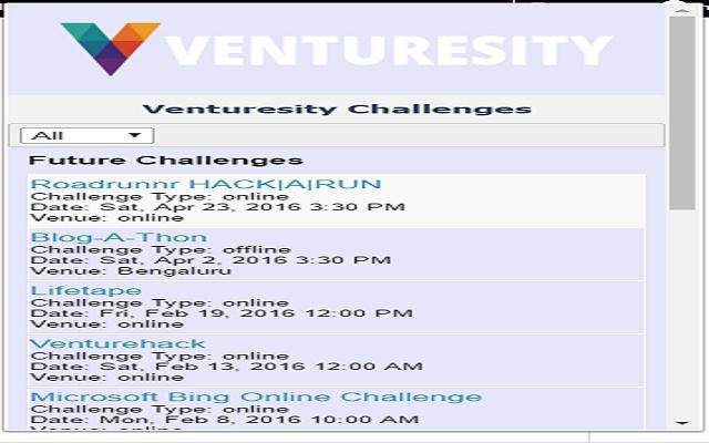Venturesity Extension