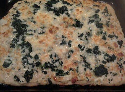 Amazing Spinach Pizza
