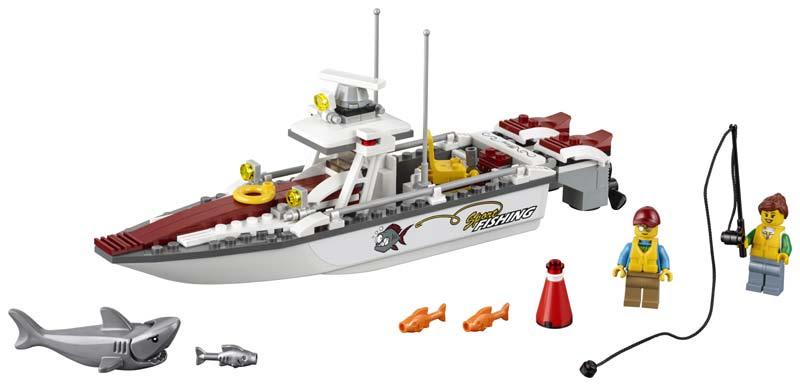 Contenido de Lego® 60147 Barco de Pesca