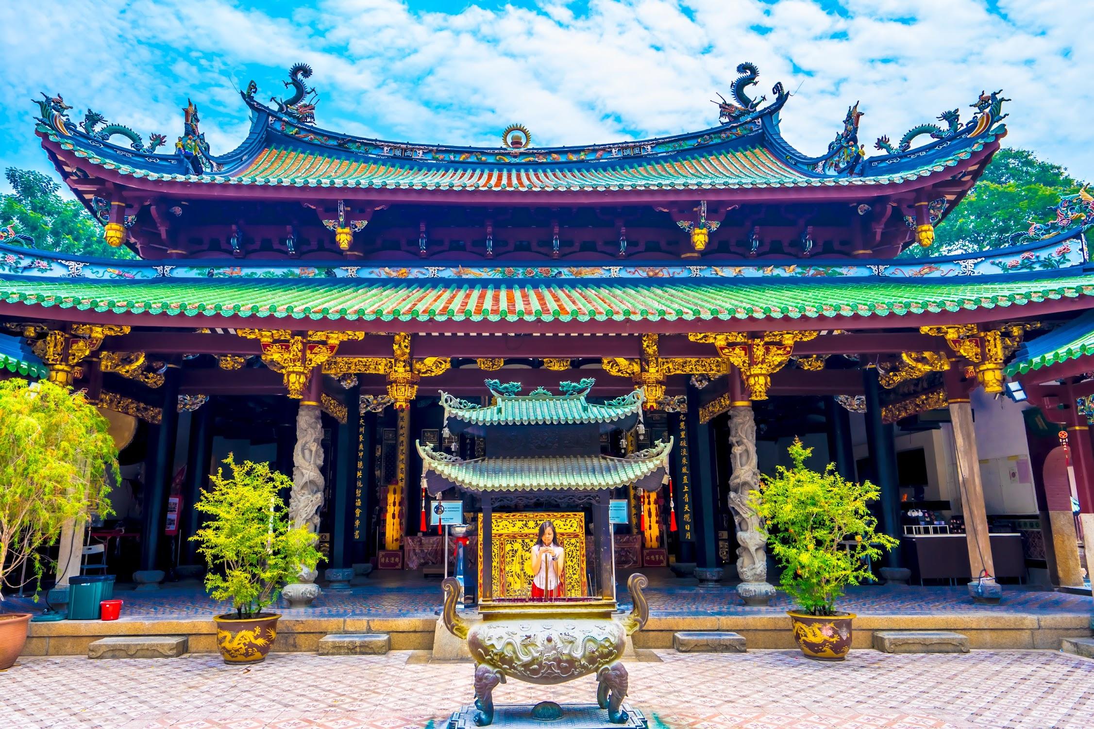 シンガポール シアン・ホッケン寺院1