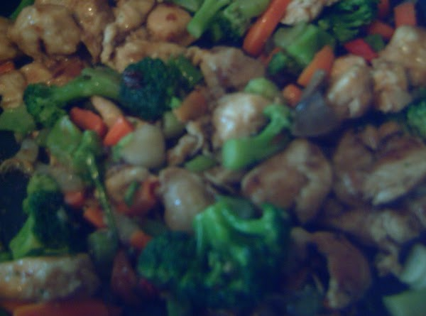 Vegetable And Chicken Stir Fry Recipe