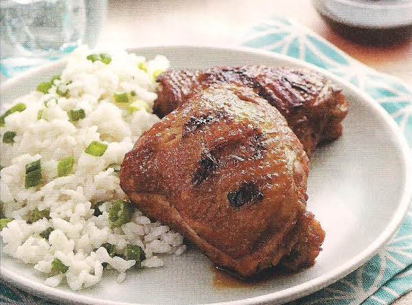 Adobo Chicken Thighs